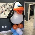 Penguin Balloon Sculpture for delivery