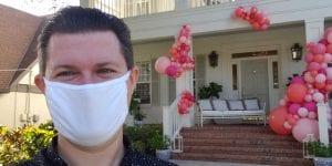Quarantine Balloon Decor Deliveries Social Distancing Entrance Decorations