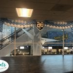 Stage Decorations for Rays 20th year celebration