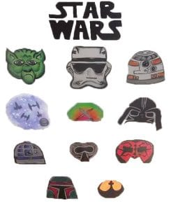 Star Wars Menu for Face Painting