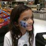 Star Wars theme Event face painting example
