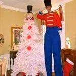 Stilts toy soldier Clearwater