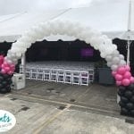 TMobile Balloon Arch Decorations