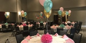 Table Balloon Decorations