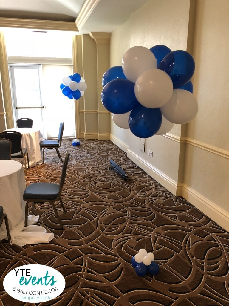 Topiary Helium Balloon Bouquets for Corporate Event