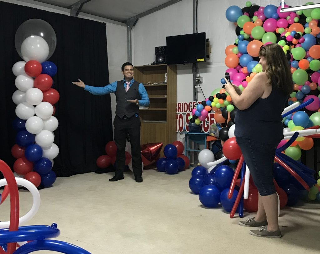 Training in Balloon Decor sculptures with YTE Events in Tampa