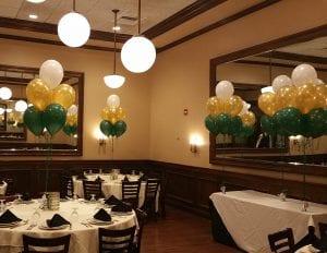 USF Graduation Event Balloon Centerpieces