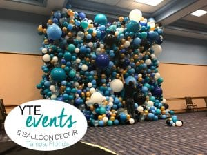Walden University Balloon Decorations and Balloon Wall ...