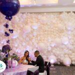 Wedding Balloon Wall Backdrop