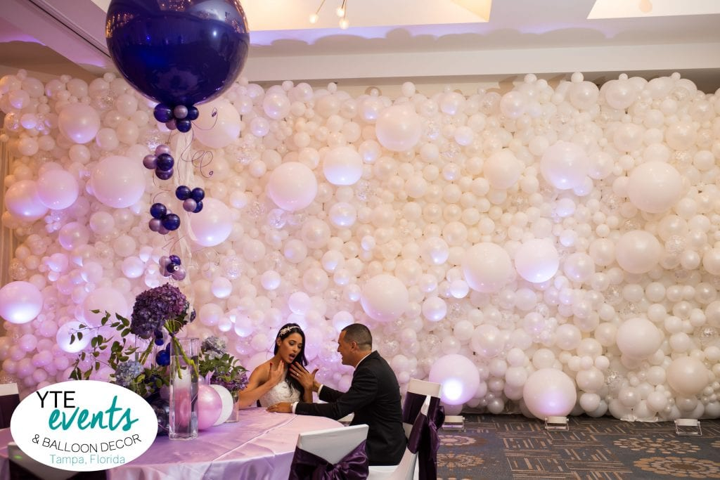 Wedding Balloon Wall Backdrop