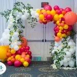 Wedding Entrance Arch for summer wedding