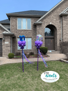 Yard Art Delivery for balloons