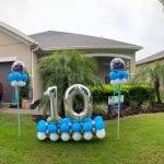Yard Art Marquee Happy Birthday 10 Years