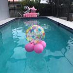 beach ball balloon sculpture summer pool birthday in College Hill
