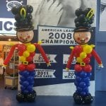 nutcrackers out of balloons