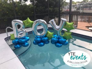 pool inflatable balloon swimming pool celebration North Hyde Park YTEevents